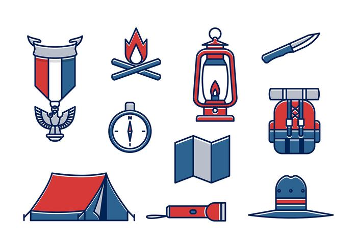 Eagle Scout Item Vector