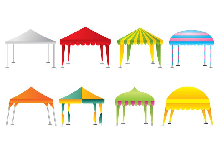 Gazebo iconen vector