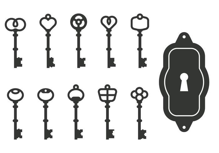 Vecteurs clés classiques