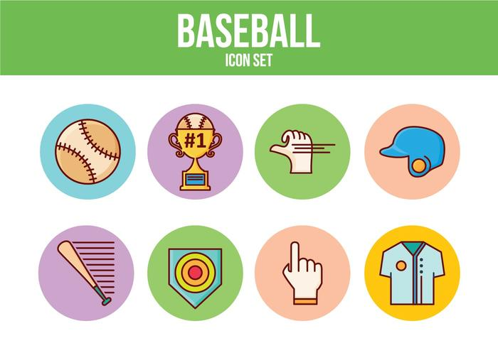 Free Baseball Icon Set