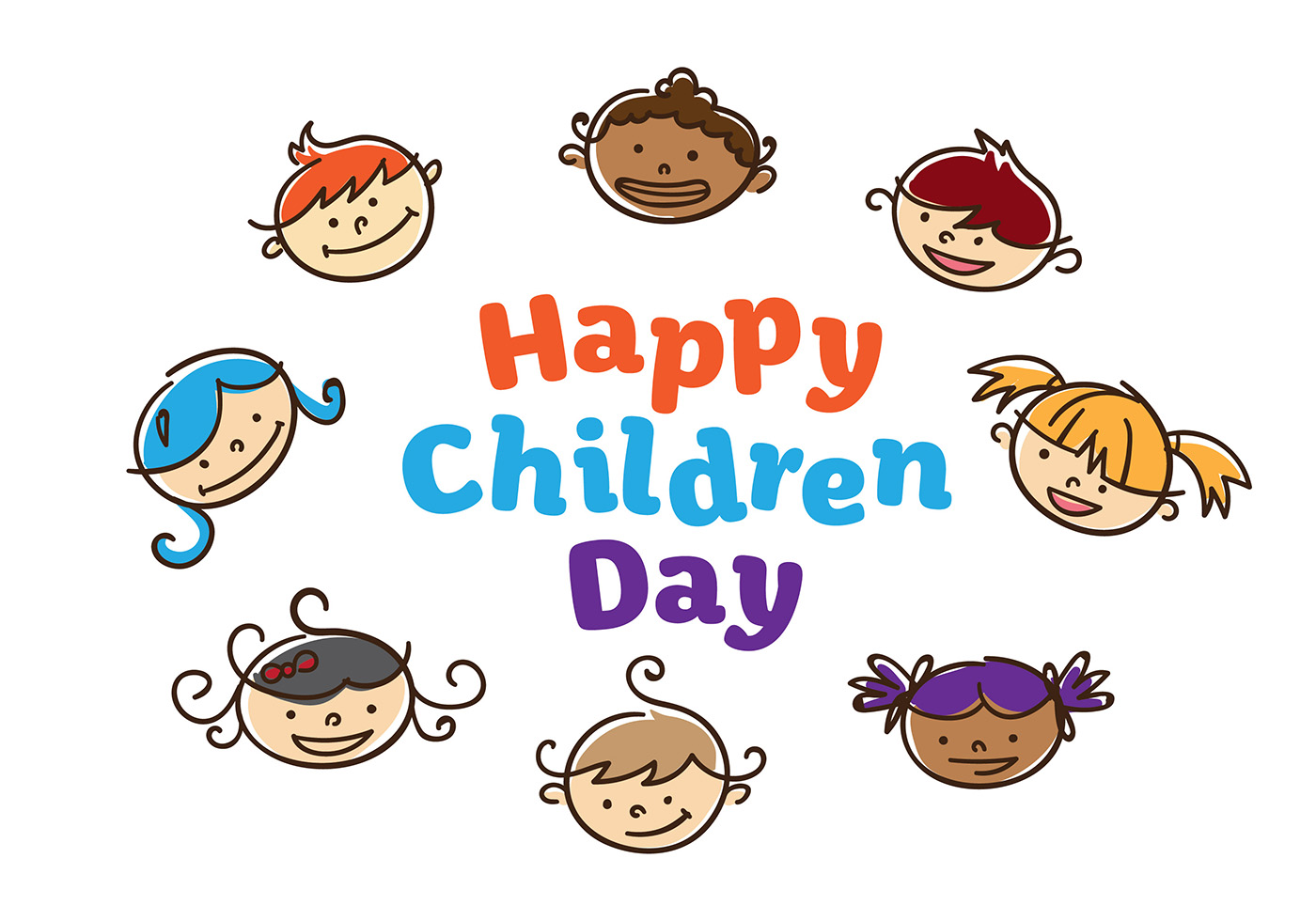Children day vector download free vector art stock graphics images - Children s day images download ...
