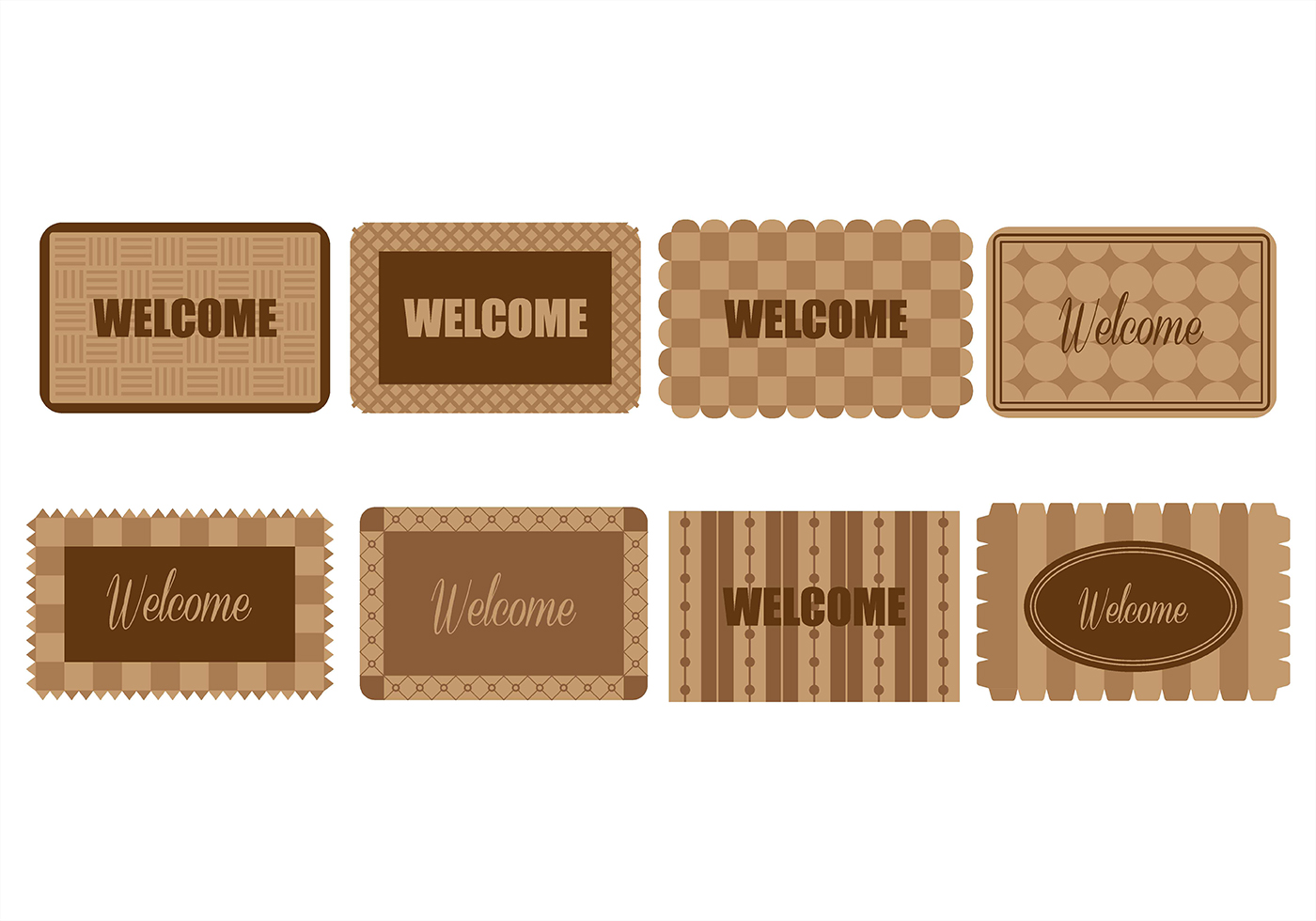 Welcome Mat Icons Download Free Vector Art Stock