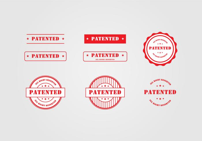 Patent Stamp Template  Download Free Vector Art Stock Graphics