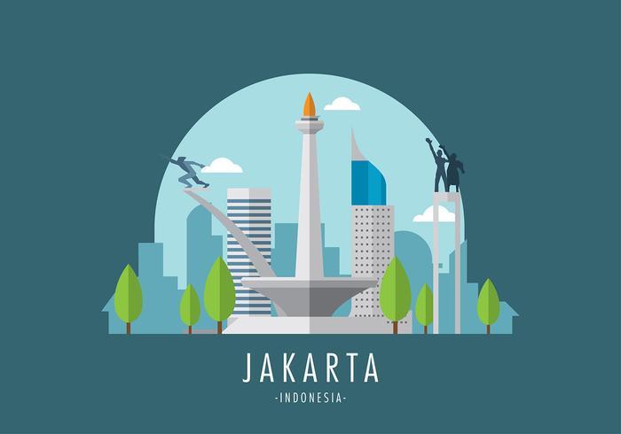 Monas Jakarta Vektor