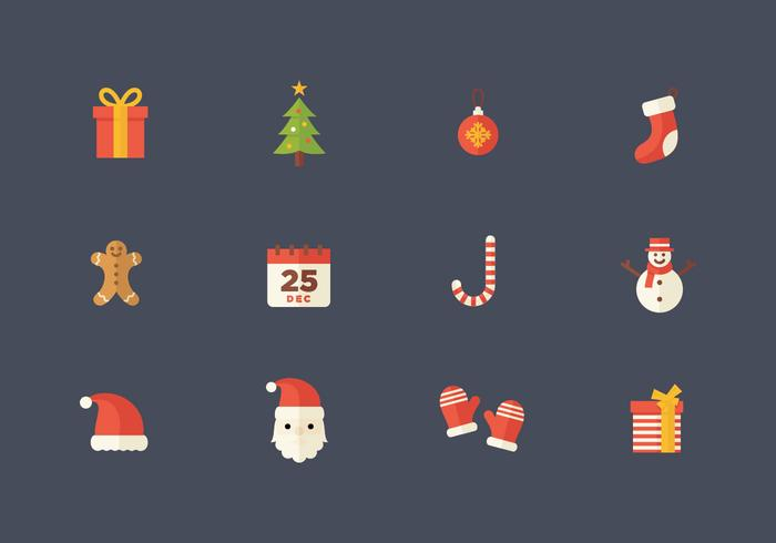Christmas Flat Vector Icon