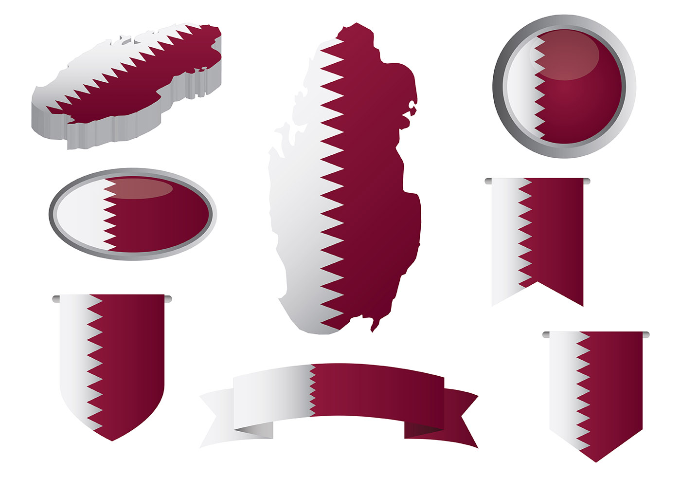 Qatar Free Vector Art