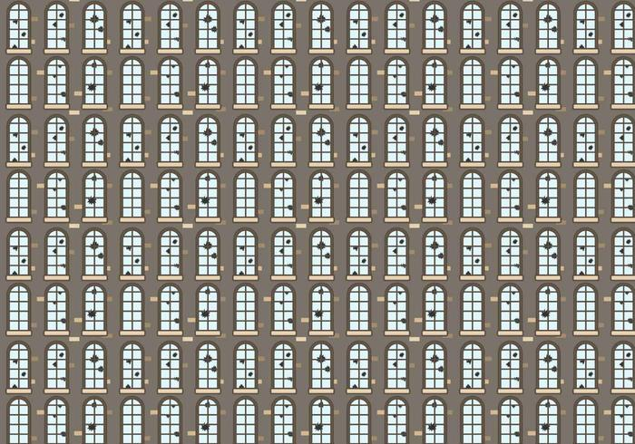 Broken Windows Pattern Vector