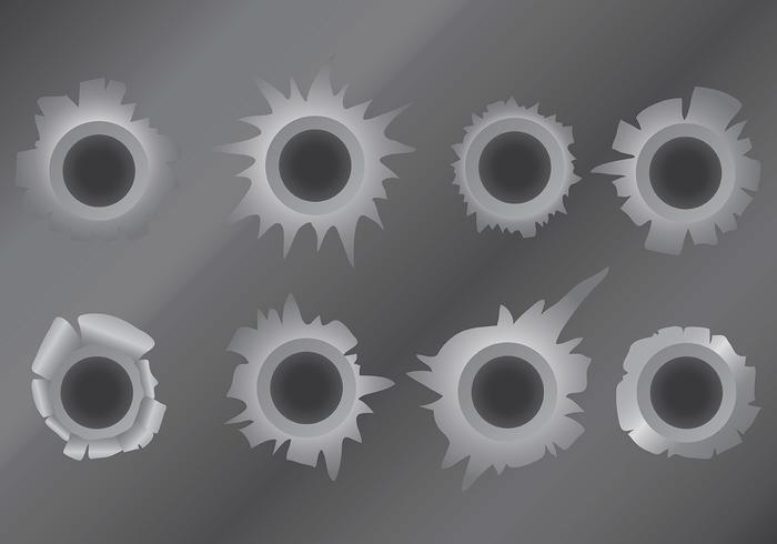 Free Metal Tear Icons Vector