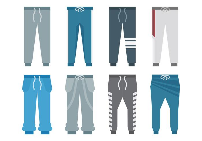 Gratis Sweatpants Pictogrammen Vector
