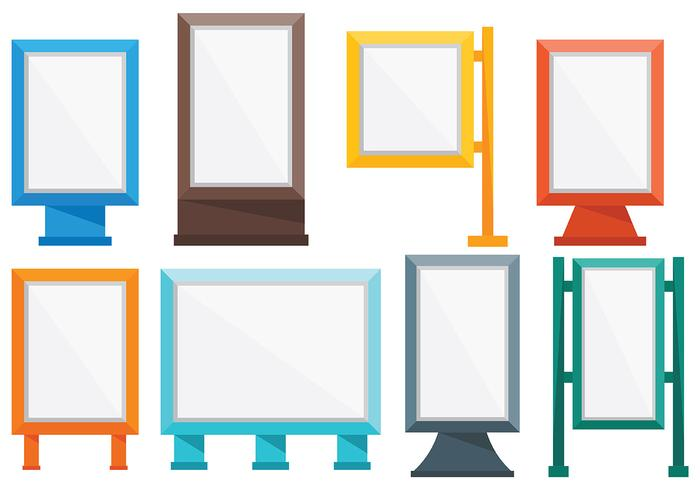 Free Hoarding Icons Vector