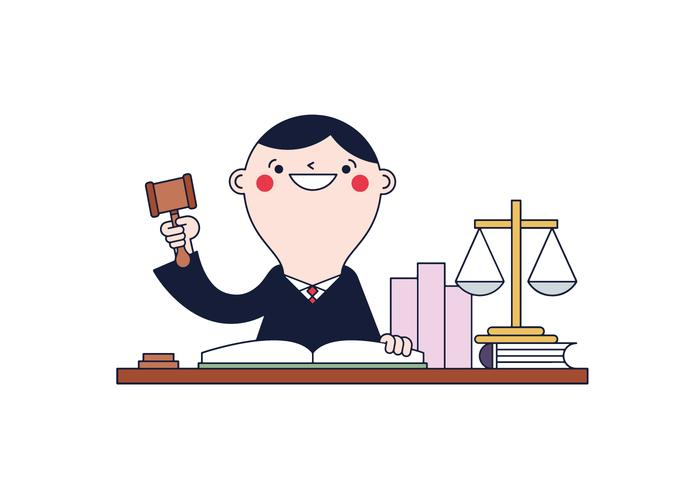 Free Judge Vector