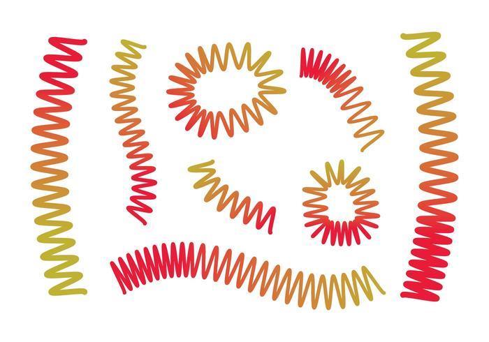 Free Slinky Vector Set
