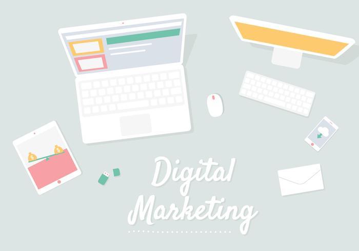 Digital Icons Illustration
