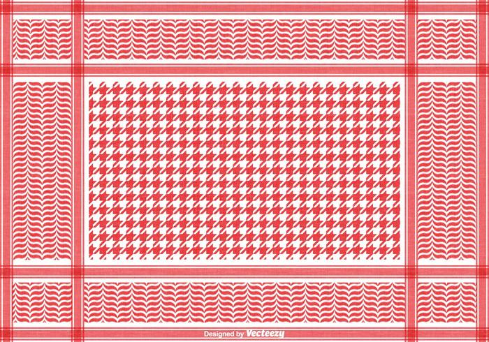 Free Classical Keffiyeh Vector Pattern