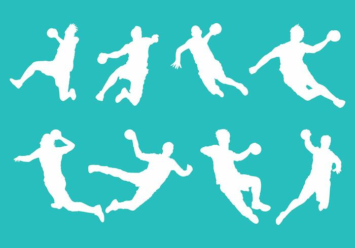Free Handball Icons Vector