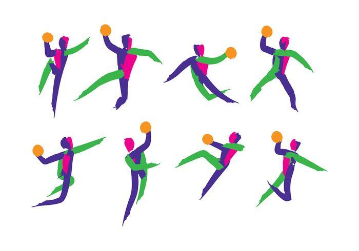 Vector do ícone do handball