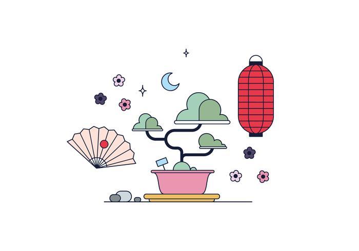 Free Bonsai Vector