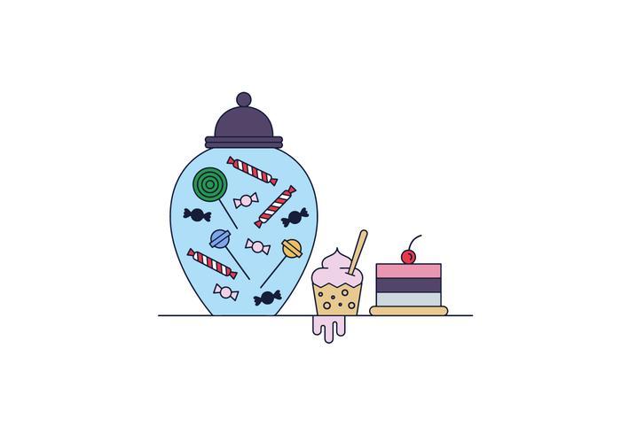 Vector libre de caramelo