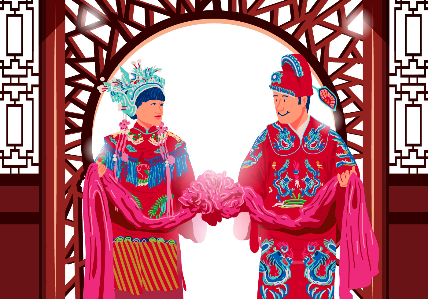 a traditional china wedding essay However in china where love is not the basis of marriage such symbolizations don't exist and this can be seen in a traditional chinese wedding  essay on chinese.