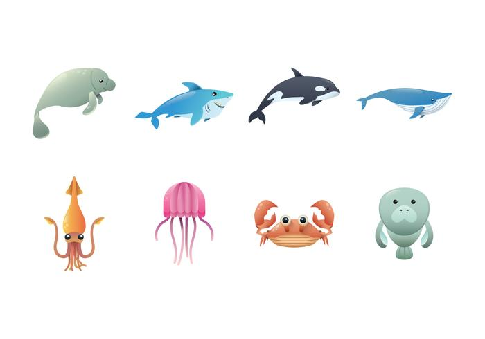 Gratis Sea Creature Vector