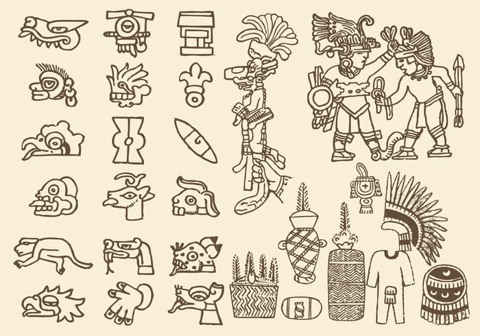 Symboles préhispaniques