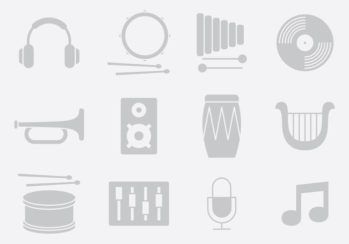 Gray Music And Sound Instruments