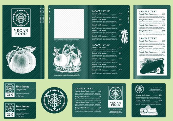 Modèles de menu végétarien