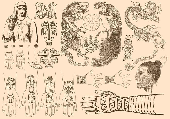 Oude Tattoos