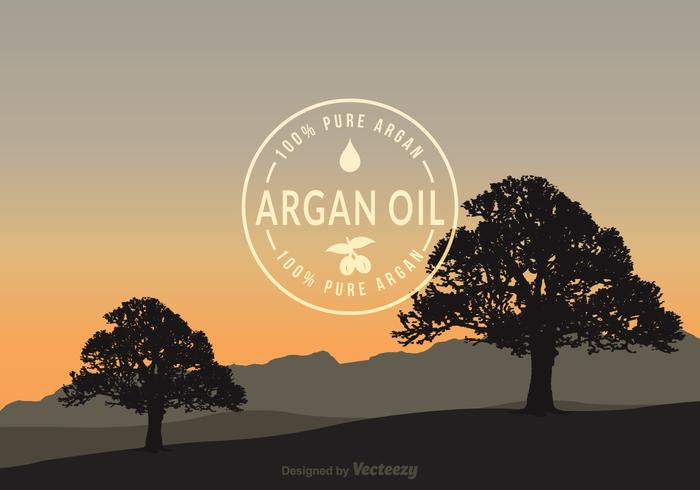 Argan Vector Background gratuit