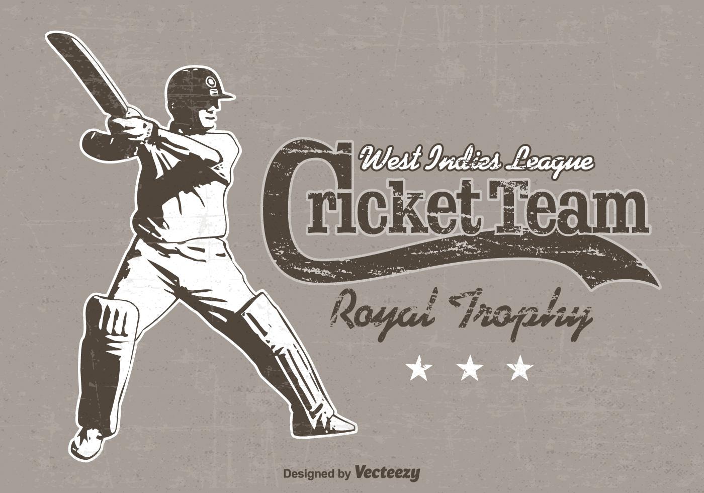 cricket poster free vector art 14337 free downloads