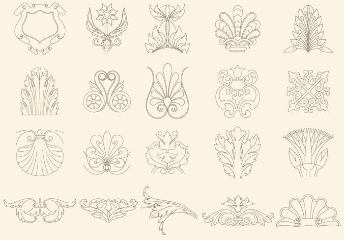 Thin Line Decorations