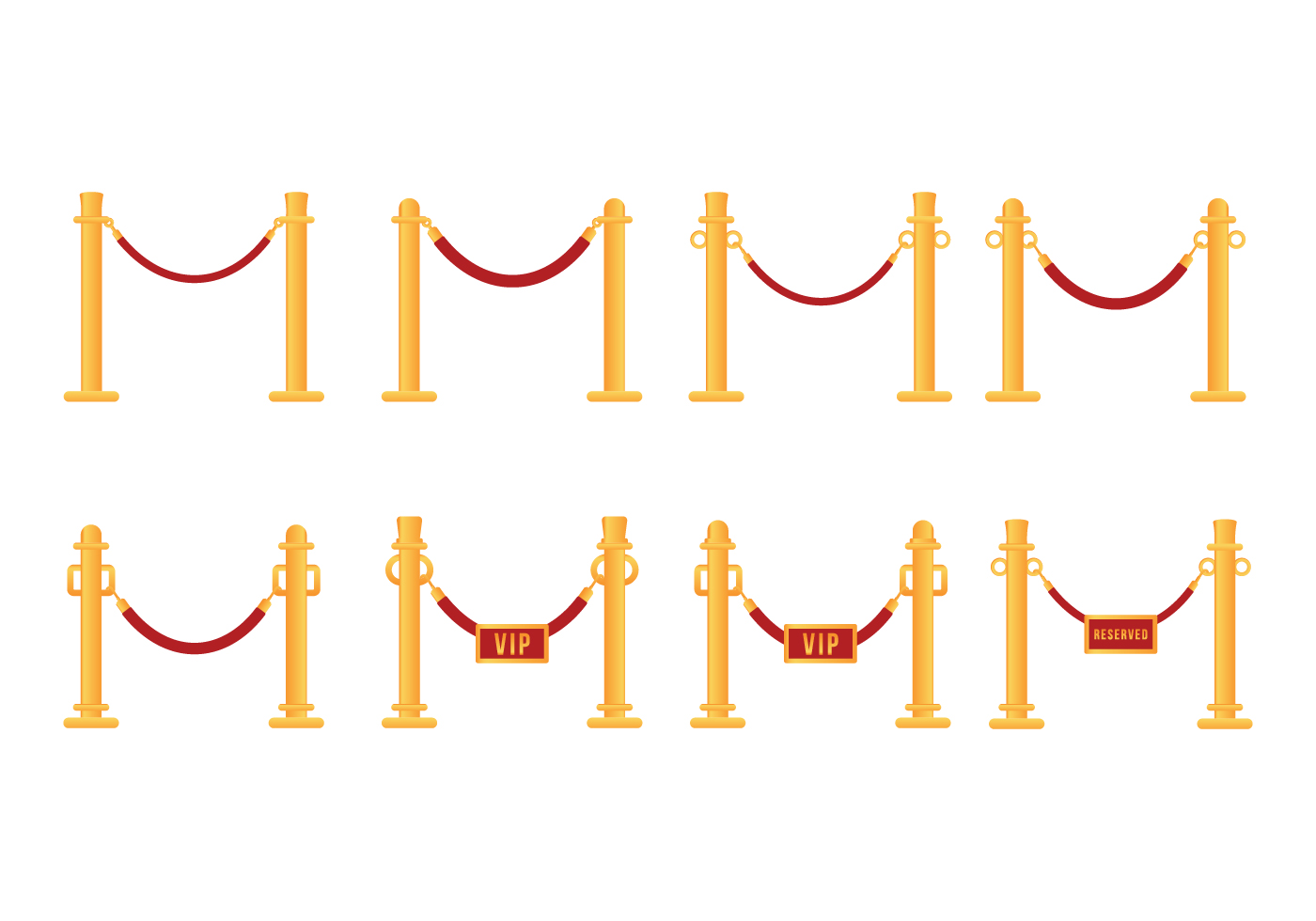 Free Velvet Rope Vector Download Free Vector Art Stock