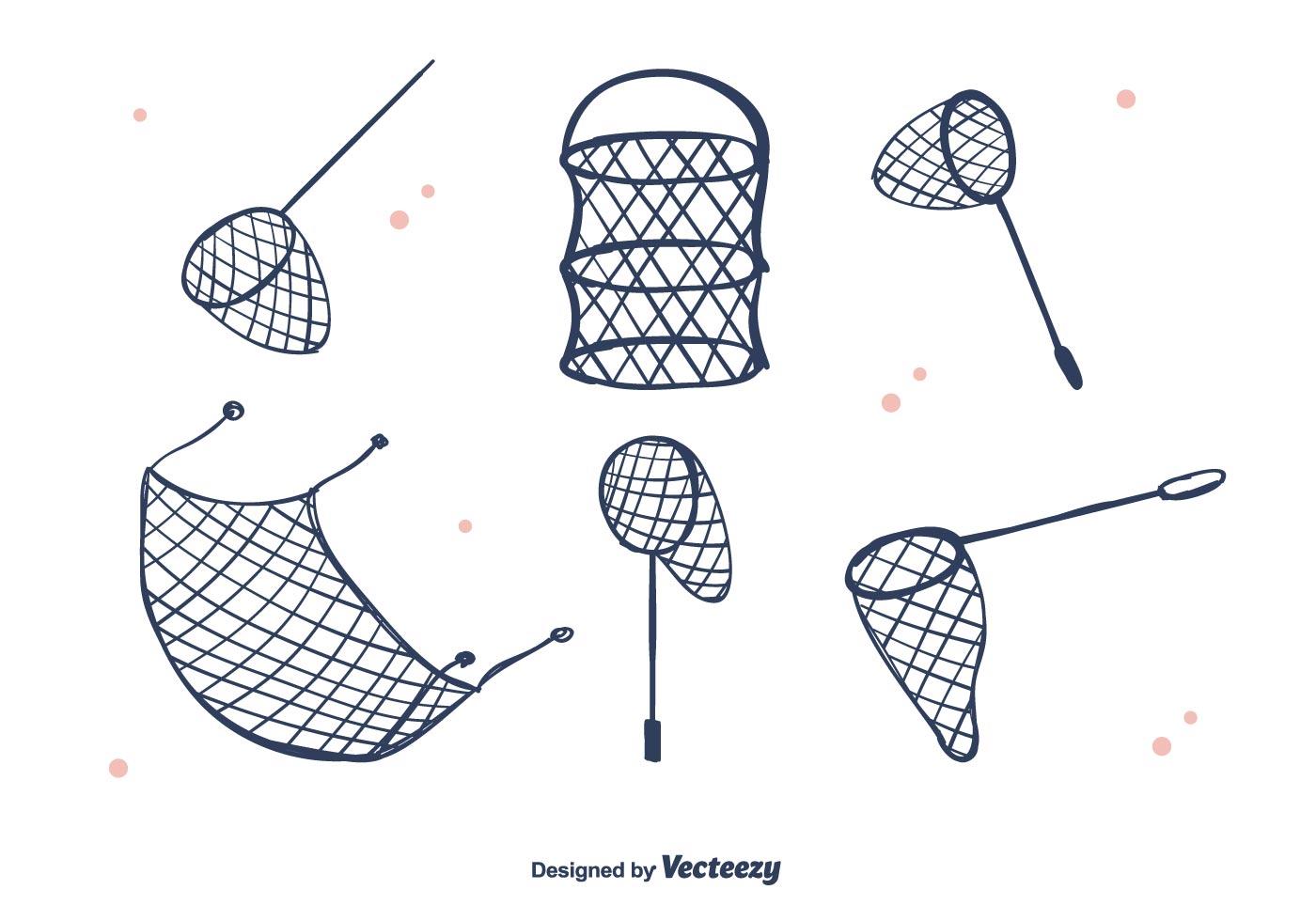 fishing net vector - photo #6