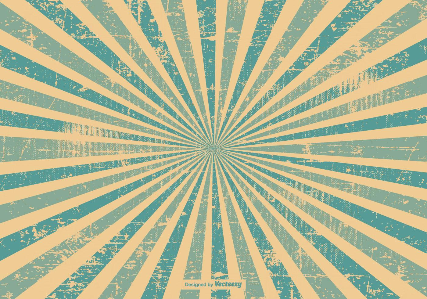 Blue Grunge Style Sunburst Background Download Free