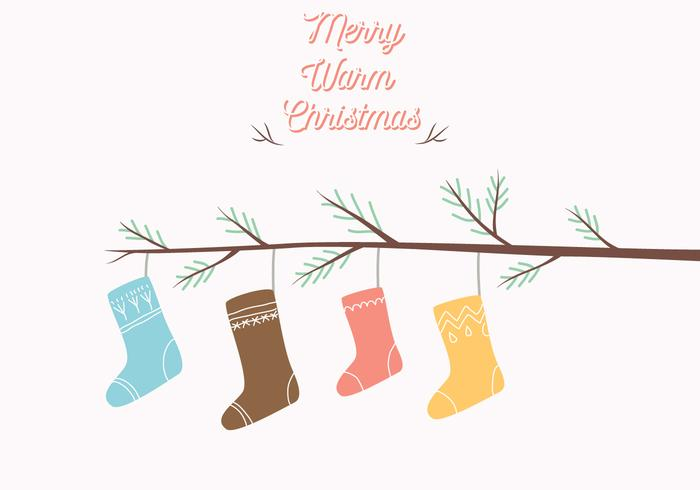 Christmas Stocking Illustratie