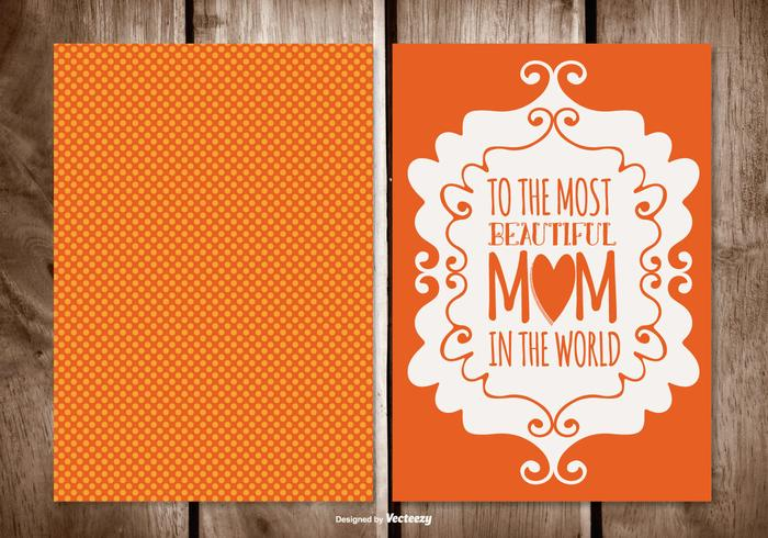 Cute Polka Dot Mother's Day Card