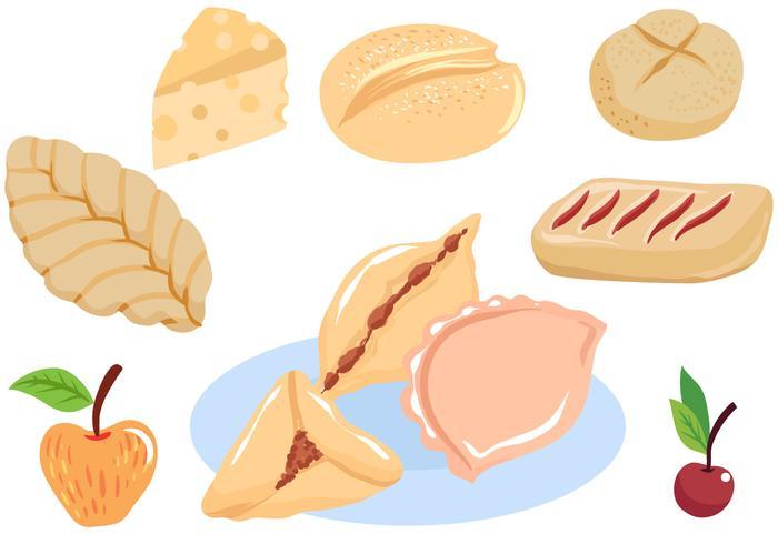 Vecteurs de pâtisserie gratuits
