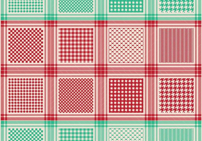 Classical Keffiyeh Pattern