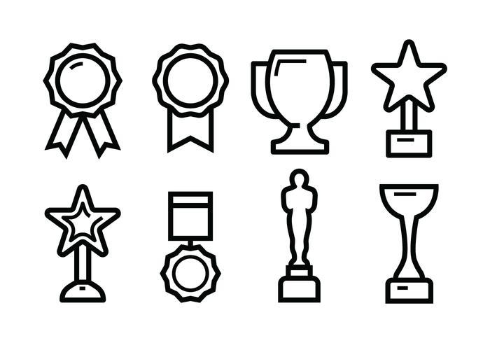 Gratis Award Icon Set