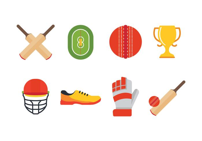 Free Cricket Icon Set