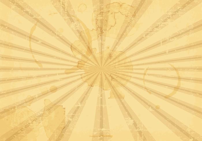 Sunburst Grunge Vector Background