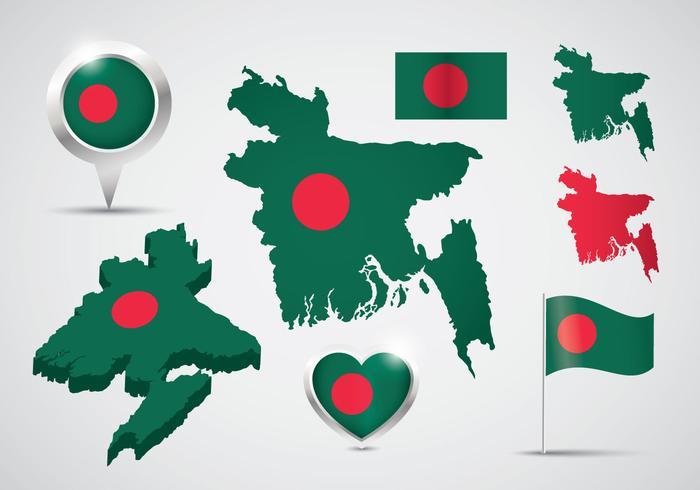 Free Bangladesh Vector Set