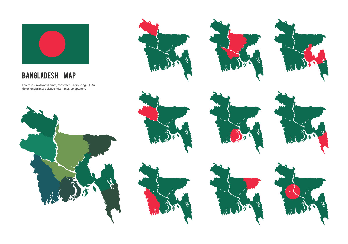 Free Bangladesh Map Vectors - Download Free Vector Art ...