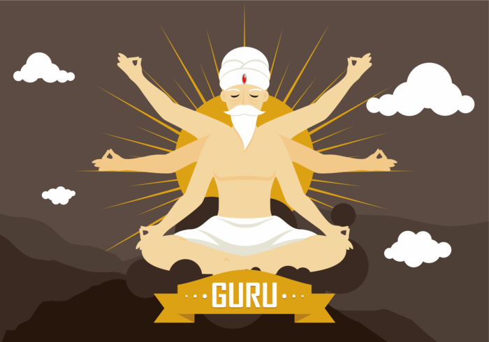 Guru Vector Illustration