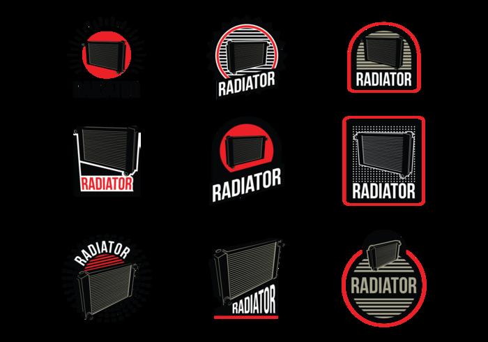 Radiator Vector Labels