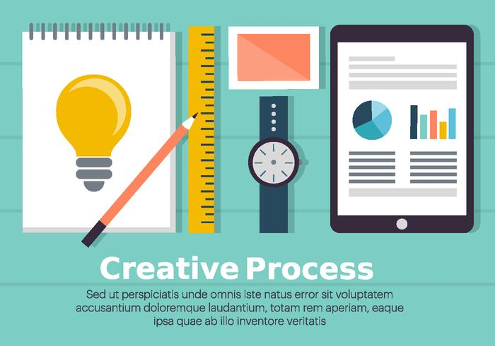 Free Creative Process Illustration