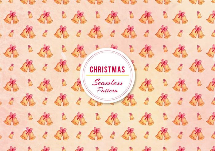 Pattern Free Christmas Bell Bell