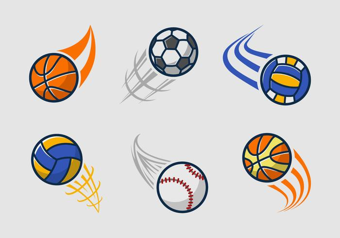 Kickball team logo pack vector