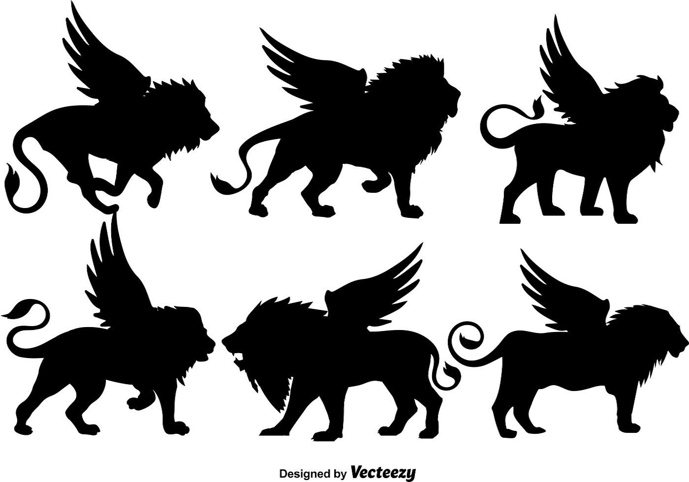 original animal silhouettes royalty free stock photos
