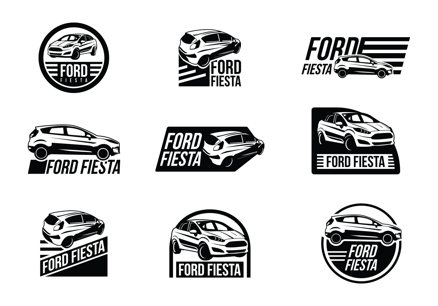ford logo vector ai alternative clipart design